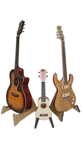 Handmade Wooden Guitar Stands - Single Guitar Stand - Made to Order