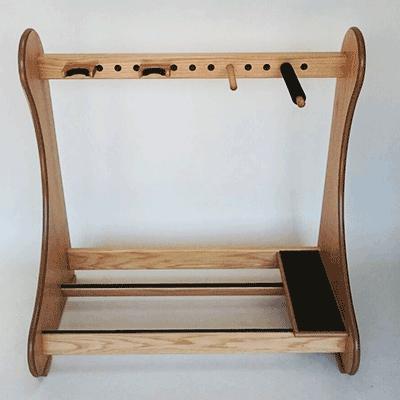 guitar case rack accessories handmade free uk delivery. Black Bedroom Furniture Sets. Home Design Ideas