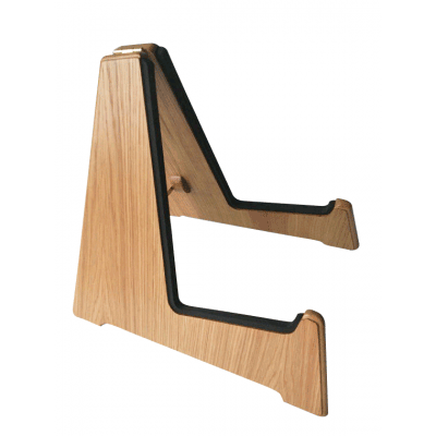 Light Oak Wooden Acoustic Guitar Stands