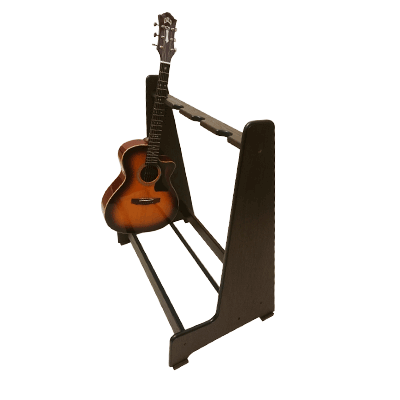 Antique Oak Retro Multi Guitar Stands. - Shop online at www.stand-made.co.uk