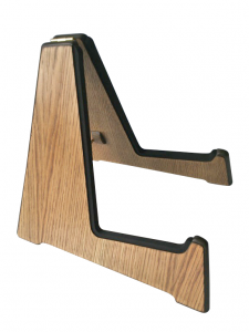 Weathered Oak Wooden Acoustic Guitar Stand - order online