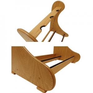 Solid oak multi guitar stand accessories