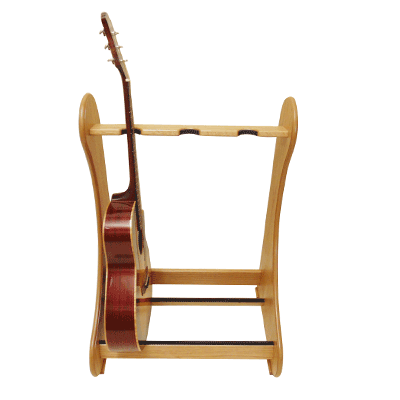 light oak classic multi guitar stands handmade free uk delivery. Black Bedroom Furniture Sets. Home Design Ideas