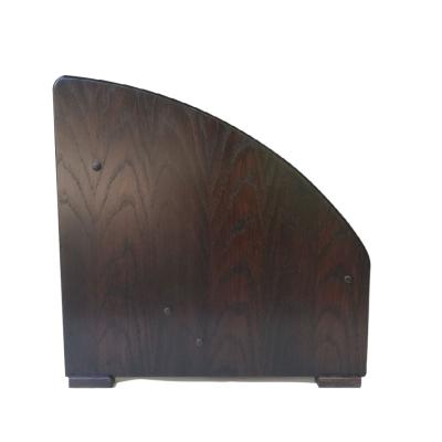 Antique Oak Side Tilted Amp Stand